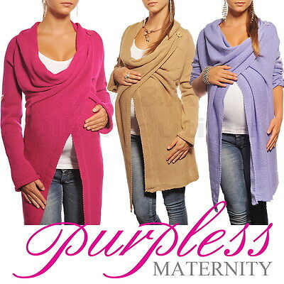 Purpless Maternity Pregnancy Cardigan Sweater Jumper Pullover Coat Top 9001/5