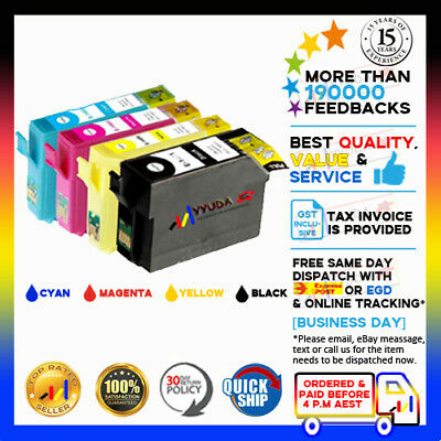24x Compatible Ink for EPSON T1401-4 workforce 840 525 7510 7520 625 635 Printer
