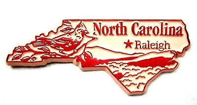 North Carolina Raleigh Fridge Magnet