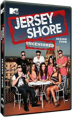 Jersey Shore UNCENSORED ~ Complete 4th Fourth Season 4 Four ~ NEW 4-DISC DVD SET