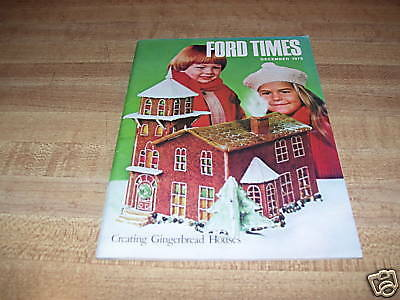 RARE DEC. 1979 ''FORD TIMES'' THE FORD OWNERS MAGAZINE
