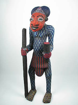 GothamGallery Fine African Art - Cameroon Bamum Royal Figure B