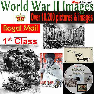 OVER 10,200 World War II Photo's & Images on DVD - disk No2