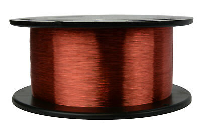 Magnet Wire 44 AWG Gauge Enameled Copper 8oz 155C 38358ft Magnetic Coil Winding