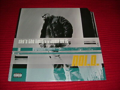 "NOI.D.  Sky's The Limit / Jump On It 12"" Jay Z Kanye West Nas / Relativity '97"