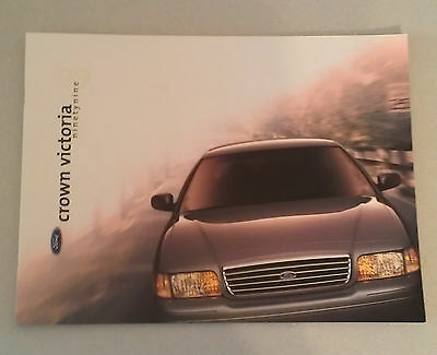 Amazing 1999 Ford Crown Victoria Brochure With Paint Color Chart