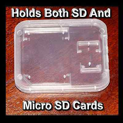 SD Card / Micro SD Card Holding case (Holds both cards together)