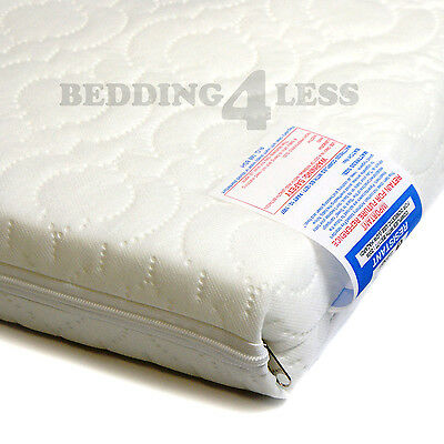 Baby Cot Bed Mattress Quilted EXTRA THICK 140 x 70 x 13 CM