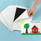 (1) Adhesive Magnetic Peel  & Stick- 8 x10 Sheet 20ml-Signs-Picture-cards-fridge