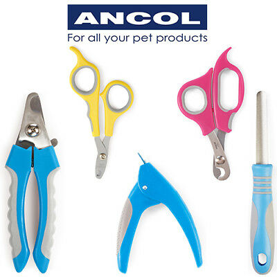 NEW Ancol Nail Clippers Small Animal Cat Dog Cat Grooming Claw Trim Scissors