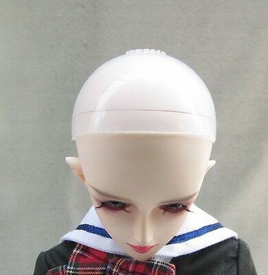 """10 pcs 7-8""""Silicon Wig Cap for MSD 1//4  Bjd Doll Head Protection Cover"""
