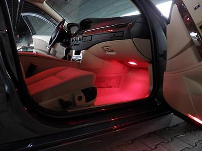 Xenon LED SMD Fußraumbeleuchtung AUDI A3 8P Rot