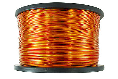 Magnet Wire 22 AWG Gauge Enameled Copper 2.5lb 1250ft 200C Magnetic Coil Winding