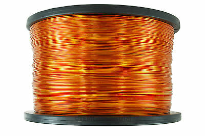 Magnet Wire 24 AWG Gauge Enameled Copper 2.5lb 1980ft 200C Magnetic Coil Winding