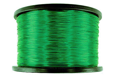 Magnet Wire 24 AWG Gauge Enameled Copper 10lb 7905ft 155C Magnetic Coil Green