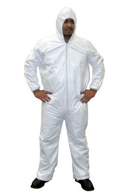SAS Safety 6893 Gen-Nex Hooded Painters Coverall - Large