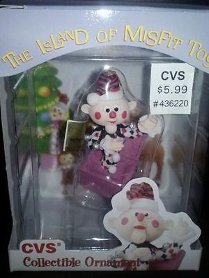 Charlie-in-Box Ornament Rudolph Island of Misfit Toys CVS  Rare Jack-in the-Box