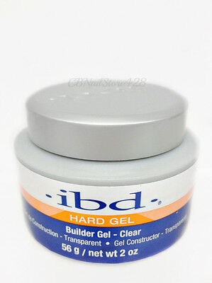 IBD UV Builder Nail Gel CLEAR 2oz/56g ~ Long Lasting Strong And Hard Gel! 60402