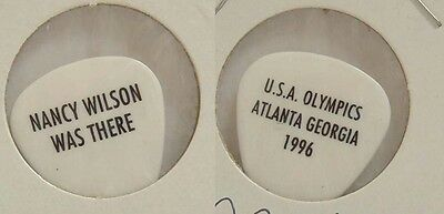 Heart - Old Nancy Wilson 1996 Olympics Cancelled Show Guitar Pick