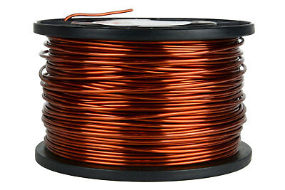 Magnet Wire 12 AWG Gauge Enameled Copper 5lb 250ft 200C Magnetic Coil Winding
