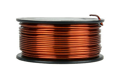 TEMCo Magnet Wire 13 AWG Gauge Enameled Copper 1.5lb 95ft 200C Coil Winding
