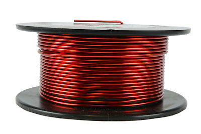 TEMCo Magnet Wire 14 AWG Gauge Enameled Copper 4oz 155C 20ft Coil Winding