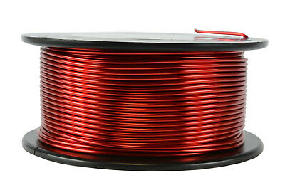 TEMCo Magnet Wire 14 AWG Gauge Enameled Copper 1lb 155C 79ft Coil Winding