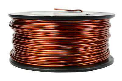 TEMCo Magnet Wire 14 AWG Gauge Enameled Copper 1.5lb 118ft 200C Coil Winding