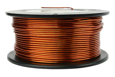 TEMCo Magnet Wire 15 AWG Gauge Enameled Copper 1lb 100ft 200C Coil Winding
