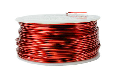 TEMCo Magnet Wire 16 AWG Gauge Enameled Copper 1lb 155C 125ft Coil Winding