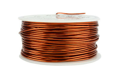 TEMCo Magnet Wire 16 AWG Gauge Enameled Copper 1lb 125ft 200C Coil Winding