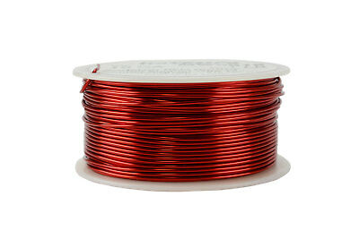 TEMCo Magnet Wire 18 AWG Gauge Enameled Copper 1lb 155C 199ft Coil Winding