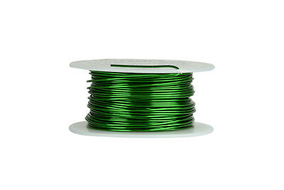 Magnet Wire 18 AWG Gauge Enameled Copper 155C 8oz 100ft Crafts Coil Green