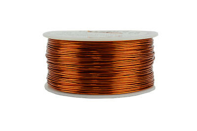 TEMCo Magnet Wire 20 AWG Gauge Enameled Copper 200C 1lb 314ft Coil Winding