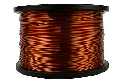 TEMCo Magnet Wire 20 AWG Gauge Enameled Copper 200C 5lb 1573ft Coil Winding
