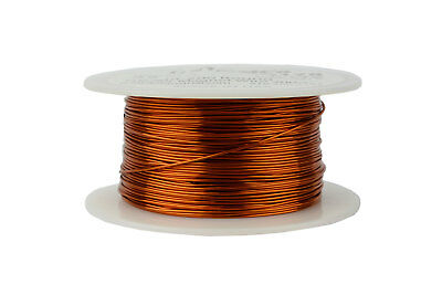 Magnet Wire 22 AWG Gauge Enameled Copper 200C 8oz 250ft Crafts Coil Winding