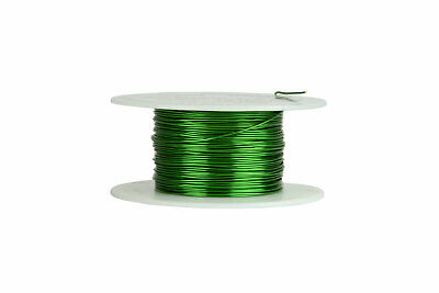 Magnet Wire 22 AWG Gauge Enameled Copper 155C 4oz 125ft Magnetic Coil Green
