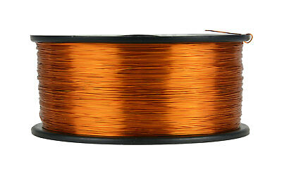 TEMCo Magnet Wire 27 AWG Gauge Enameled Copper 200C 1.5lb 2355ft Coil Winding