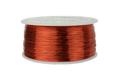 Magnet Wire 28 AWG Gauge Enameled Copper 1lb 155C 1988ft Magnetic Coil Winding