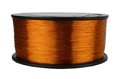 Magnet Wire 30 AWG Gauge Enameled Copper 200C 1.5lb 4698ft Magnetic Coil Winding