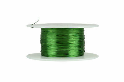 TEMCo Magnet Wire 30 AWG Gauge Enameled Copper 155C 4oz 783ft Coil Green