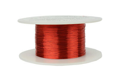 TEMCo Magnet Wire 32 AWG Gauge Enameled Copper 4oz 155C 1222ft Coil Winding