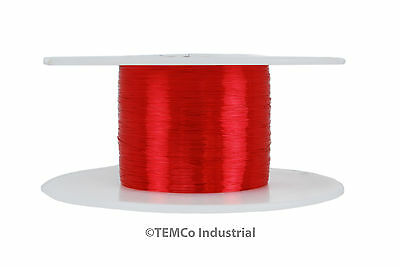 TEMCo Magnet Wire 36 AWG Gauge Enameled Copper 2oz 155C 1547ft Coil Winding