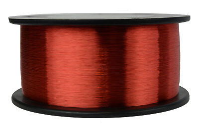 TEMCo Magnet Wire 42 AWG Gauge Enameled Copper 1lb 155C 48841ft Coil Winding