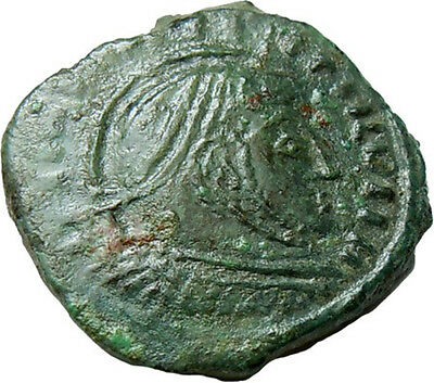 Barbarian Imitation Constantine AE20 mm Authentic Ancient Bronze Coin