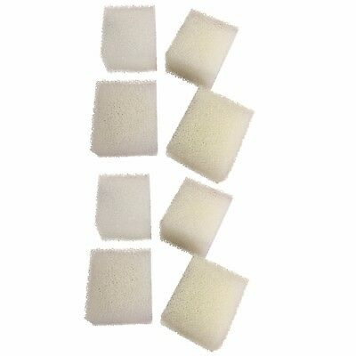 8 x Compatible Foam Filter Pads Suitable For Fluval Edge Filter