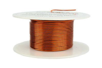 Magnet Wire 18 AWG Gauge Enameled Copper 200C 4oz 50ft Magnetic Coil Winding