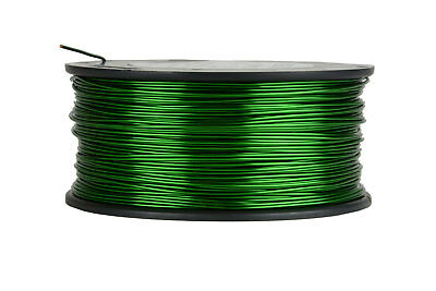 Magnet Wire 18 AWG Gauge Enameled Copper 155C 1.5lb 298ft Magnetic Coil Green