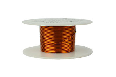 TEMCo Magnet Wire 24 AWG Gauge Enameled Copper 200C 2oz 98ft Coil Winding
