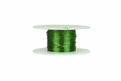 Magnet Wire 26 AWG Gauge Enameled Copper 155C 2oz 157ft Magnetic Coil Green